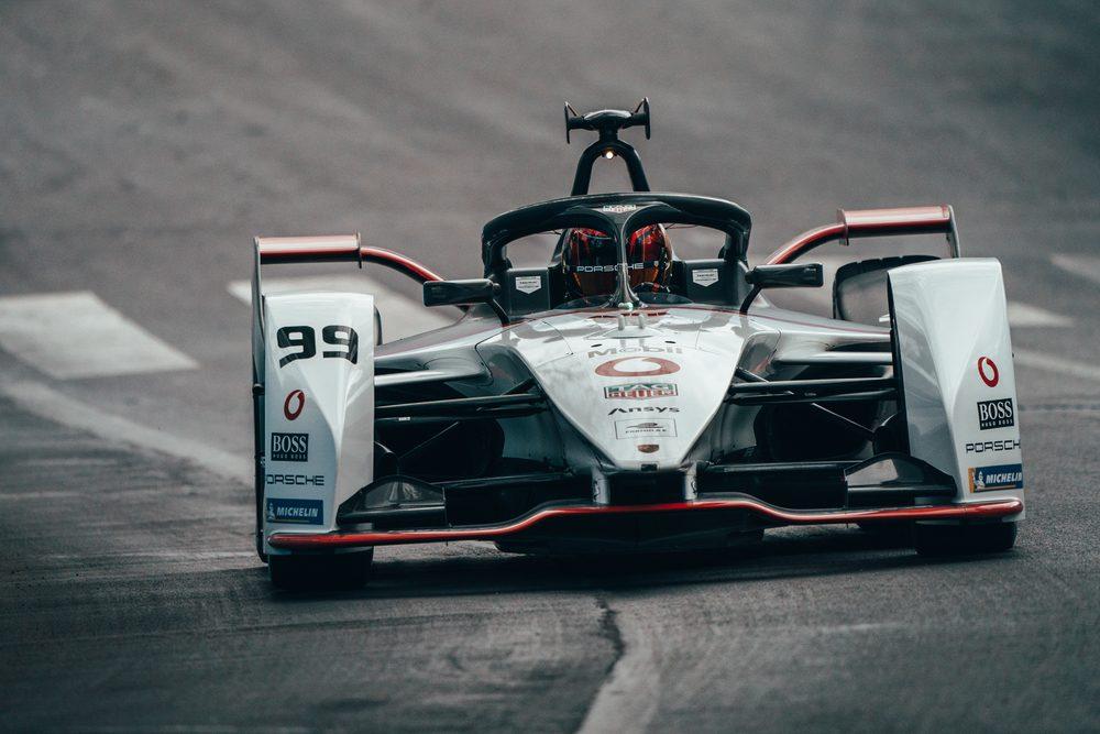 First appearance of the Porsche Formula E team in the Monaco E-Prix.