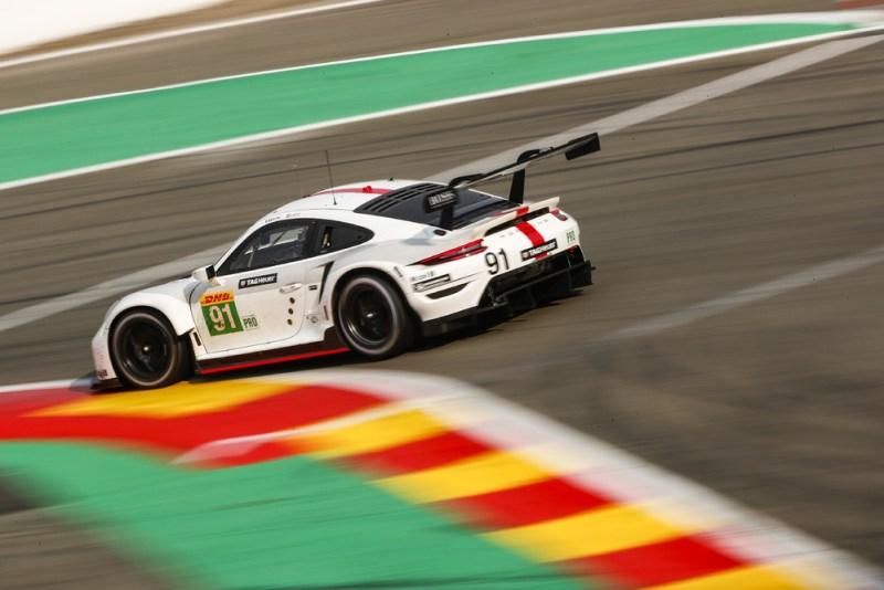 Porsche 911 RSR, Porsche GT Team (#91), Gianmaria Bruni (I), Richard Lietz (A)