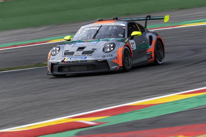 Porsche 911 GT3 Cup, Christopher Zöchling (A), Porsche Carrera Cup Deutschland, Spa-Francorchamps 2021