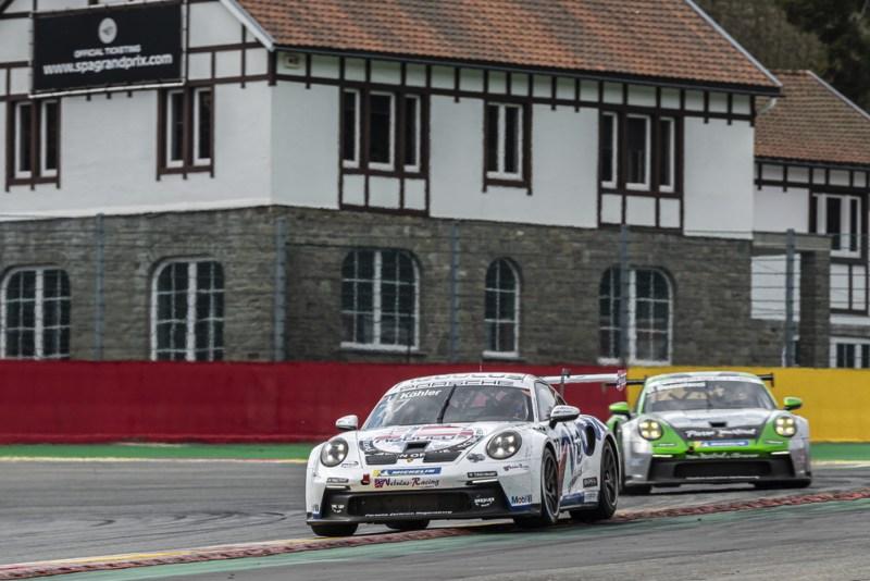 Porsche 911 GT3 Cup, Leon Köhler (D), Porsche Carrera Cup Deutschland, Spa-Francorchamps 2021