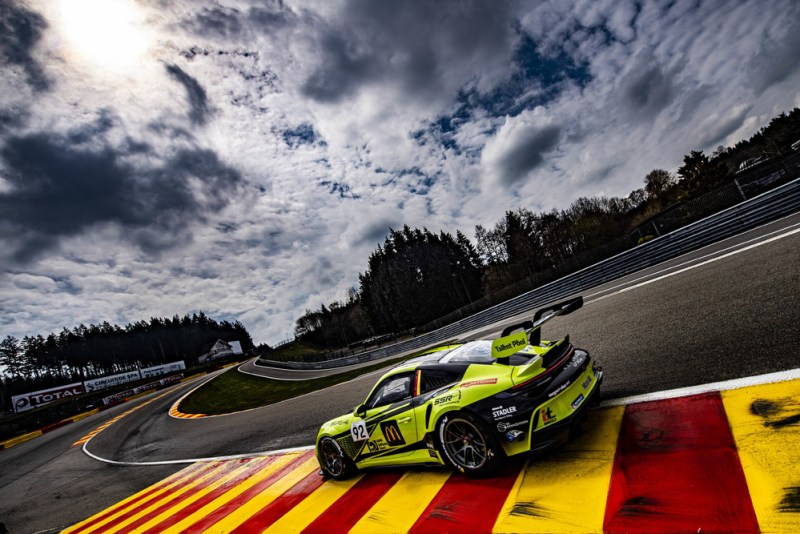 Porsche 911 GT3 Cup, Laurin Heinrich (D), Porsche Carrera Cup Deutschland, Spa-Francorchamps 2021