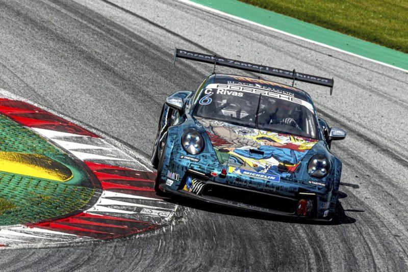 Porsche 911 GT3 Cup, Carlos Rivas (L), Porsche Carrera Cup Deutschland, Red Bull Ring 2021