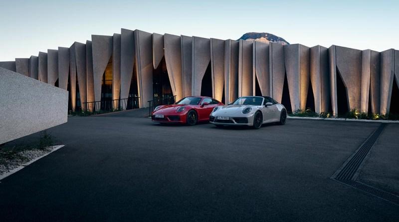 Porsche 911 Carrera GTS and Porsche 911 Targa 4 GTS