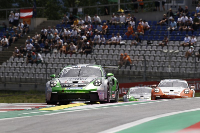 Porsche 911 GT3 Cup, Dorian Boccolacci (F), Porsche Mobil 1 Supercup, Spielberg 2021