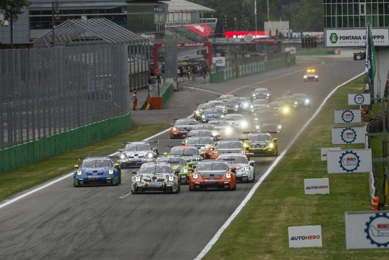 Start- Porsche Carrera Cup Deutschland, Monza 2021