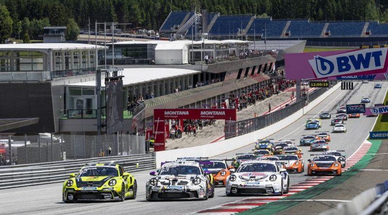 Start- Porsche Carrera Cup Deutschland, Red Bull Ring 2021