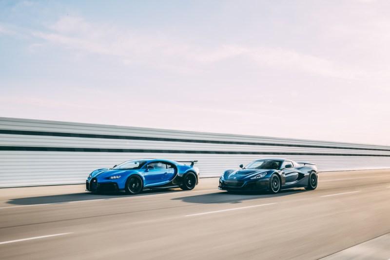 Bugatti-Rimac joint-venture with Porsche