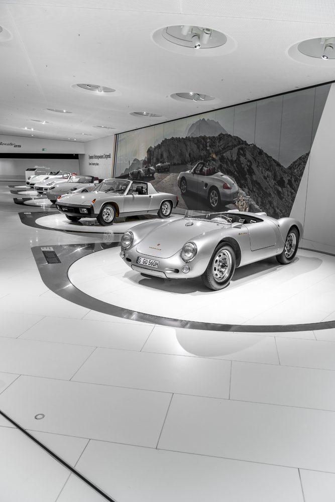 Porsche Boxster Exhibition