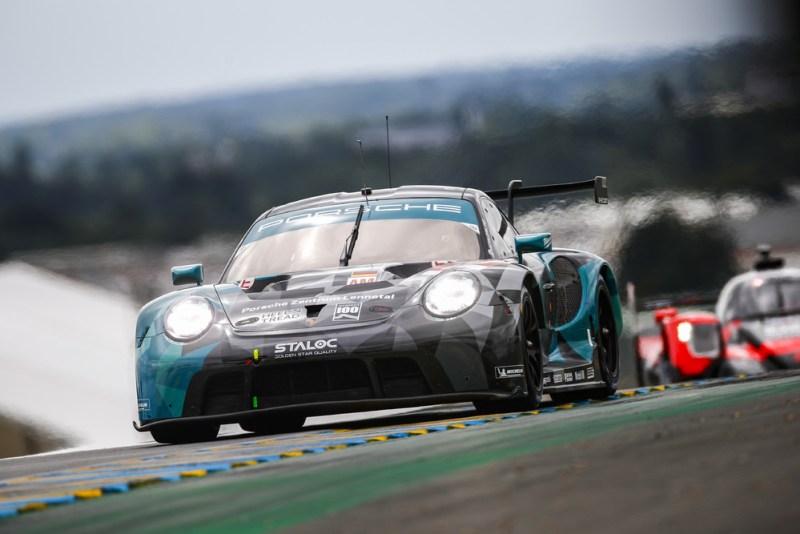 Porsche 911 RSR, Dempsey-Proton Racing (#88), Julien Andlauer (F), Dominique Bastien (USA), Lance David Arnold (D)