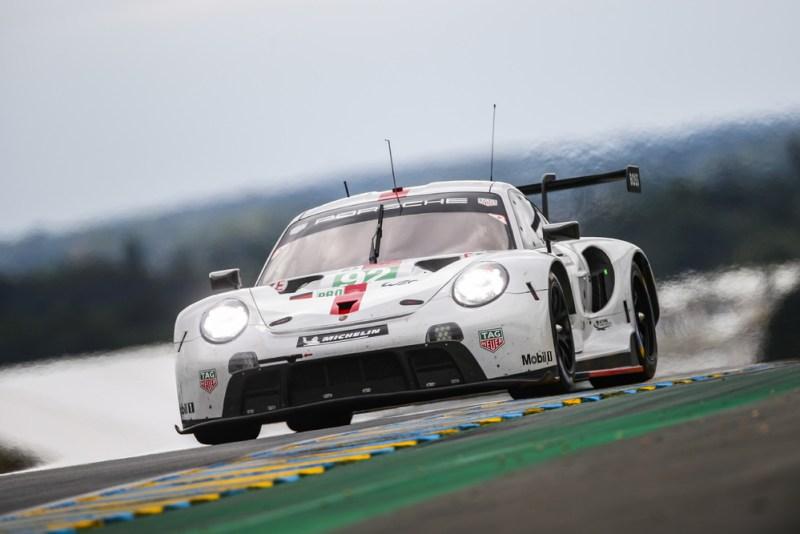 Porsche 911 RSR, Porsche GT Team (#92), Kevin Estre (F), Neel Jani (CH), Michael Christensen (DK)