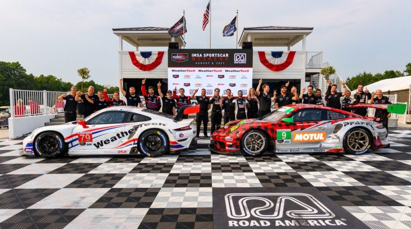Porsche takes victory in both classes at Road America