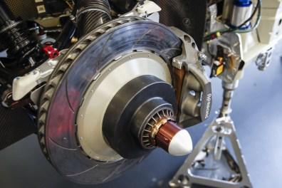 Porsche 911 RSR, braking system