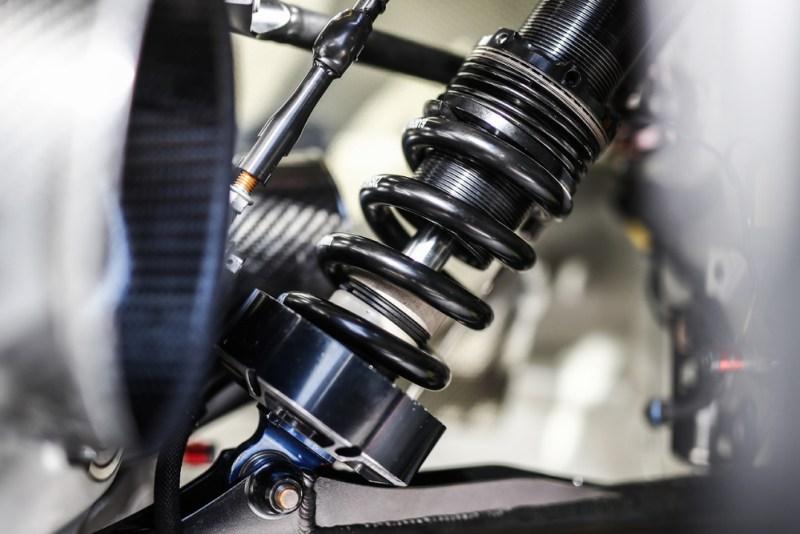 Porsche 911 RSR, shock absorber