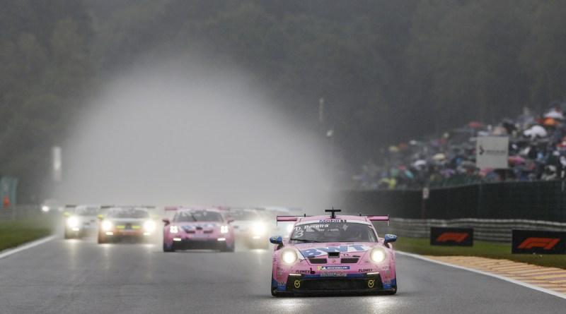 Porsche 911 GT3 Cup, BWT Lechner Racing (#3), Dylan Pereira (L), Porsche Mobil 1 Supercup 2021, Spa-Francorchamps (B)