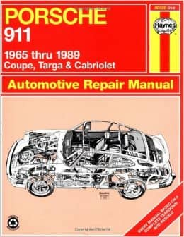 Porsche 911: Automotive Repair Manual : 1965 to 1989 - Coupe, Targa & Cabriolet Book Cover