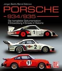 Porsche 934 / 935 Book Cover