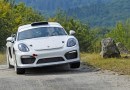 Porsche runs Cayman GT4 Clubsport as course car