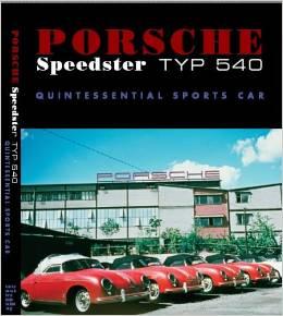 Porsche Speedster Typ 540 Book Cover