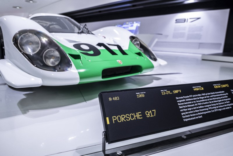 The Porsche 917-001 will be shown in the Porsche Museum for the first time in its original condition.