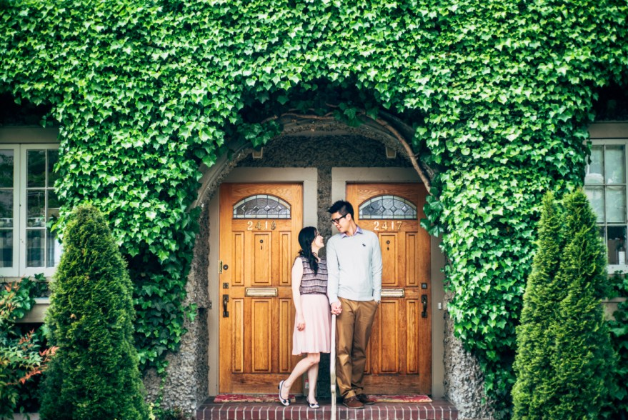 kitsilano engagement photography photo shoot vancouver residential