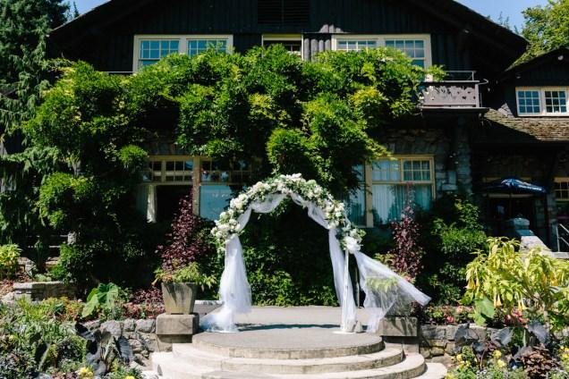 Wedding in Stanley Park Pavilion