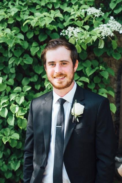 simple backyard wedding vancouver portrait male female girl guy
