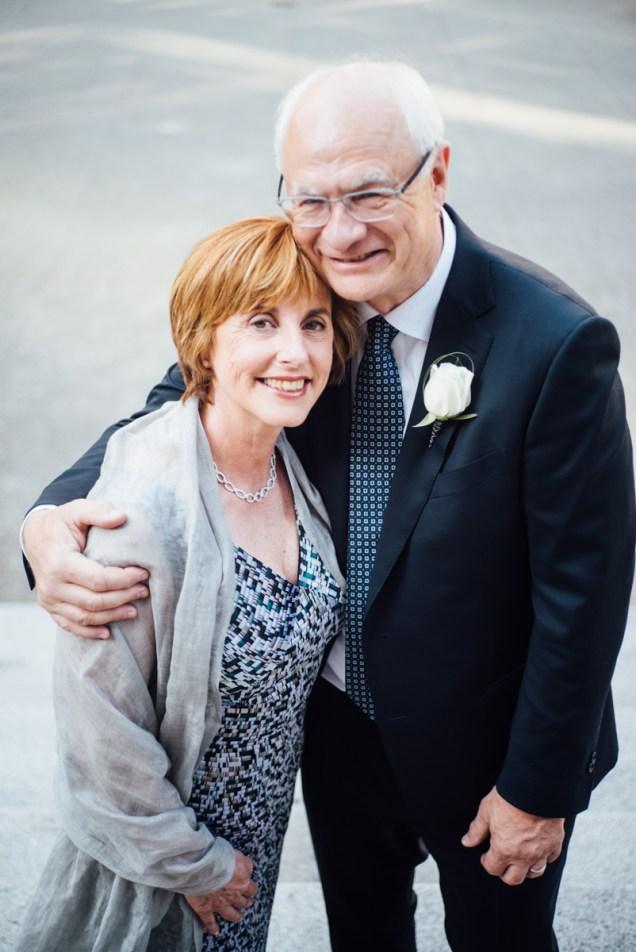 couple wedding vancouver art gallery