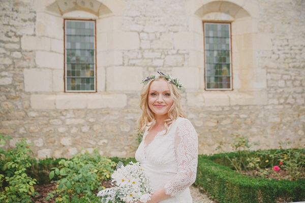 Natural style wedding in France