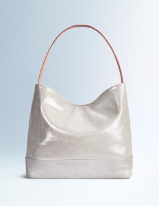Metallic slouch bag, boden, French style