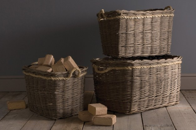 French style wicker baskets