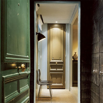 Maximising space in a French style home