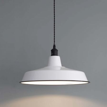 enamel pendant light