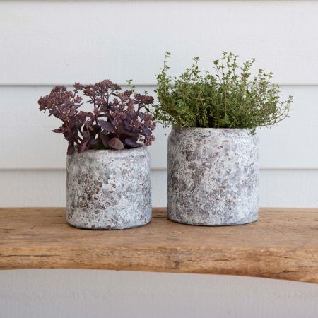 Rustic french style pots