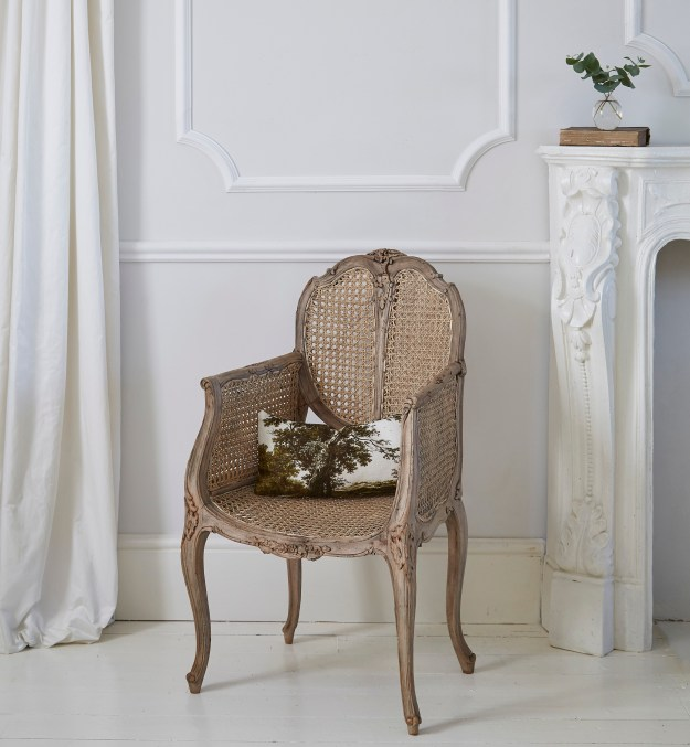 French rattan chair
