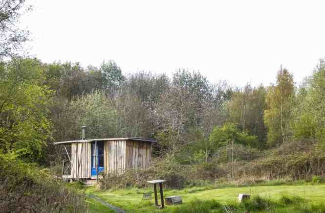 Camping pods in Scotland