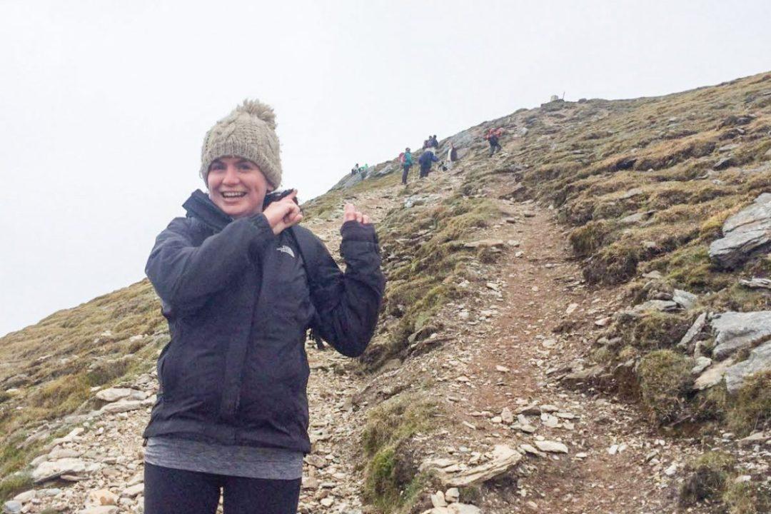 Climbing a munro