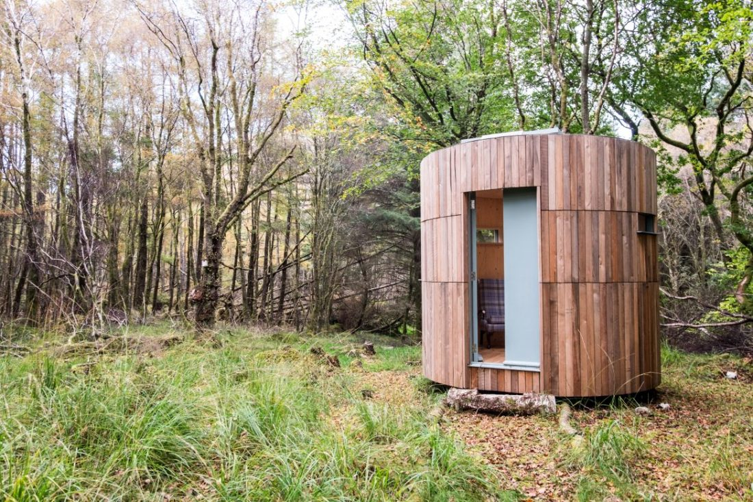 cuil moss cottage stargazing hide