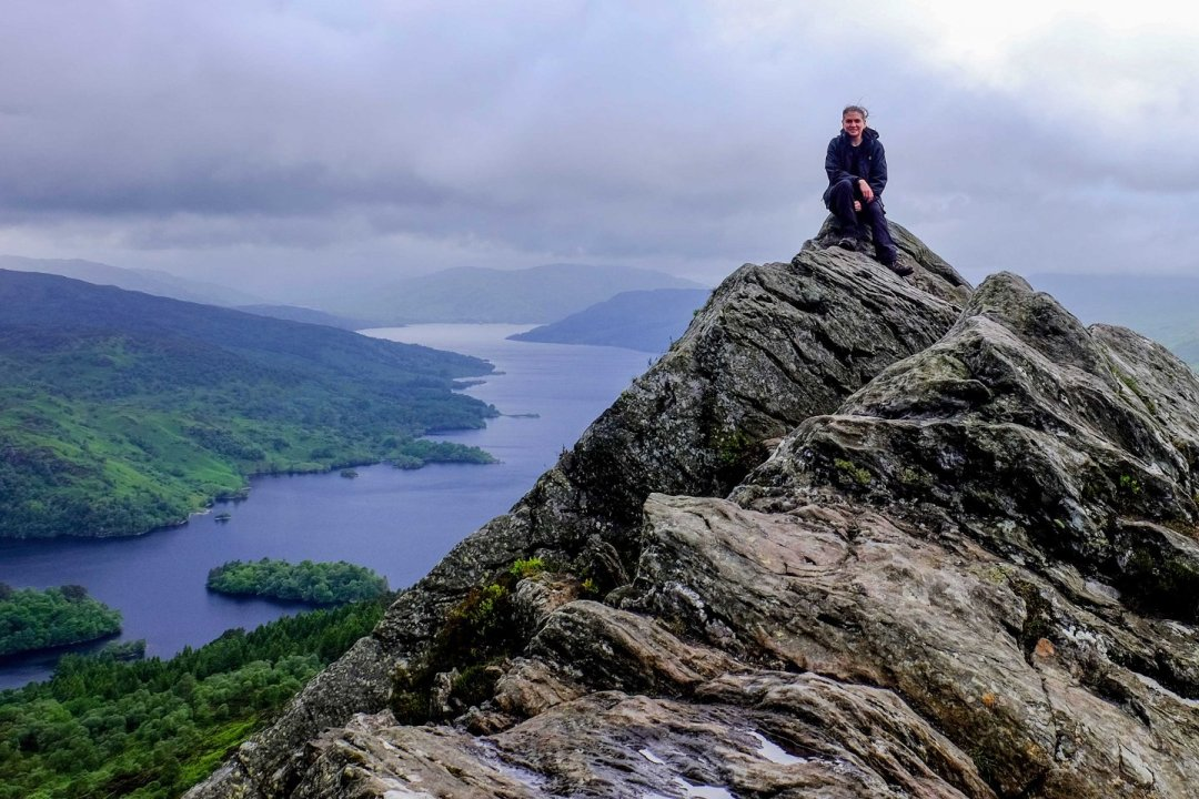 hills for beginners in scotland