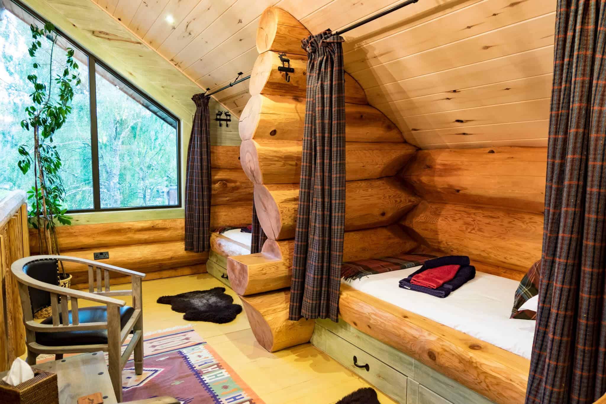 Luxury Log Cabins Scotland Eagle Brae