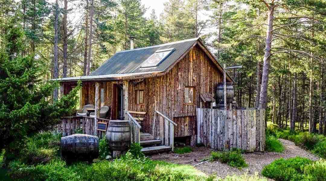 log cabins in scotland