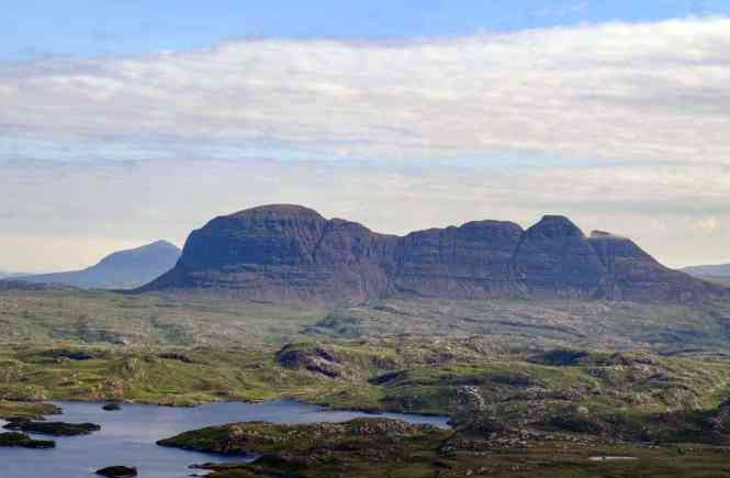 Suilven Day Walks in Scotland