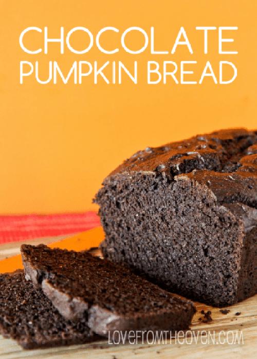 Dark Chocolate Pumpkin Bread Recipe