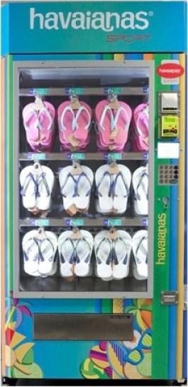 Havaianas Vending Machine in Australia