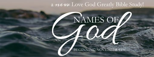 Names of God Bible Study Online