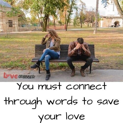 connect through words to save