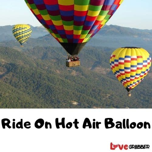Ride On Hot Air Balloon