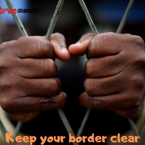 keep your border clear