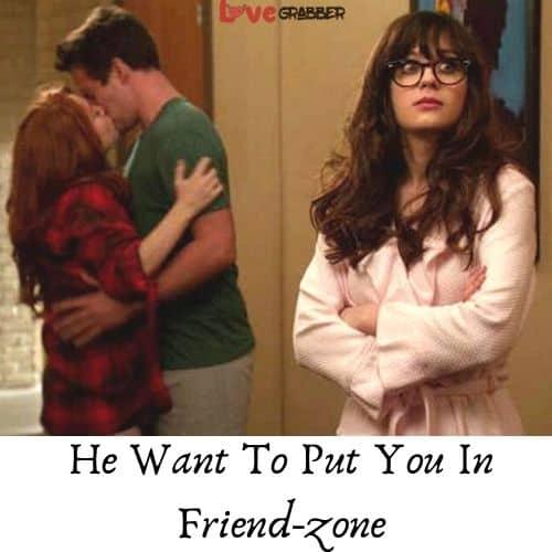 you are in friend-zone