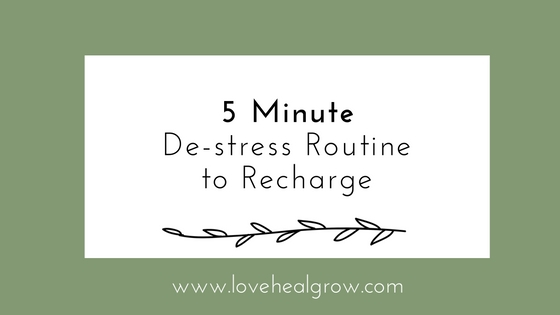 5-Minute De-Stress Routine ~ Recharge & Conquer Your Day