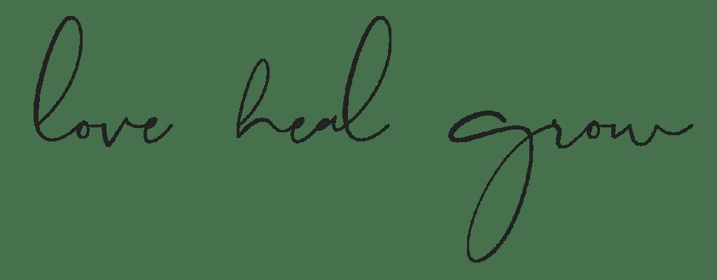 love heal grow counseling sacramento logo